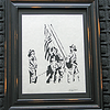 "Title: ""911 Raising The Flag For Freedom "" -Framed Hand Cut Parchment  <br /> Size: 10x13<br /> Price: $59 Plus Tax -S&H<br /> Email Your Order: JanetLynchArt@gmail.com<br /> Frames may vary depending on available stock"