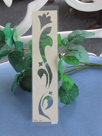 """ FLOWER ""  Book Mark - Scherenschnitte - Hand Cut 3x7 - Free Shipping In U.S. with any other purchase<br /> <br /> Approximately 3x7 $6.00 ea<br /> Laminated to last for years<br /> Buy This Item: <a href=""http://www.etsy.com/listing/84565009/your-name-book-mark-scherenschnitte-hand"">http://www.etsy.com/listing/84565009/your-name-book-mark-scherenschnitte-hand</a><br /> <br /> ~Have a special size or request? Just CLICK CONTACT AT THE BOTTOM and we'll see what we can work out!<br /> <br /> ~All images are copyright protected and the exclusive property of Janet Lynch and may not be used without permission.<br /> <br /> ~THIS ITEM SHIPS FREE IN U.S. IF SHIPPED WITH ANY OTHER PURCHASE<br /> <br /> 5% Sales Tax Is Added To Total Purchase Price For Virgina Residents. This Tax is not included on Shipping Cost."
