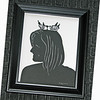 """Title: """"Your Silhouette""""<br /> Size: 8x10<br /> Price:$49  Per Person Plus Tax -S&H<br /> Email Your Order: JanetLynchArt@gmail.com"""