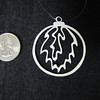 """Title: """"Christmas Ball """" - Hand Cut Parchment<br /> Price: $6<br /> This item ships free in U.S. and Canada when shipped with an equal or lesser item<br /> <br /> ~ Scherenschnitte (hand paper cutting) Christmas Ornament<br /> Signed and dated by Janet Lynch<br /> <br /> ~ All Christmas ornaments can be personalized with names in Calligraphy<br /> Water Mark will not appear on your art order<br /> <br /> ~Want this as a print on a 5x7 Note Card? <a href=""""http://www.etsy.com/listing/71810088/note-cards-5x7-choose-any-photo-or-paper"""">http://www.etsy.com/listing/71810088/note-cards-5x7-choose-any-photo-or-paper</a><br /> <br /> ~ Want this as a print on a jewelry pendant? <a href=""""http://www.etsy.com/listing/74448914/cape-hatteras-lighthouse-fine-art"""">http://www.etsy.com/listing/74448914/cape-hatteras-lighthouse-fine-art</a><br /> <br /> ~ Special Custom requests welcome.....just email me and I will do my best to work with you. If you have a theme or particular interest I am sure I have a design for you......or I will design one just for you.<br /> <br /> ~Visit our shop to see all my hand cut Scherenschnitte Art, Fine Art Photography, Prints, Christmas Ornaments, Bookmarks, Note Cards, Photo Pendants, Jewelry:<br /> <a href=""""http://artgalleryriverrd.etsy.com"""">http://artgalleryriverrd.etsy.com</a>"""