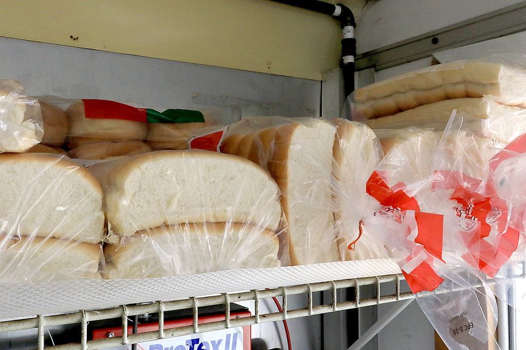 . Janet\'s Chili Dogs in Fitchburg is one of the local seasonal eateries in the North Central MA region.  Some buns on a shelf wait for hot dogs. SENTINEL & ENTERPRISE/JOHN LOVE