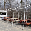 Janet's Chili Dogs in Fitchburg is one of the local seasonal eateries in the North Central MA region. a view of the establishment on Thursday March 21, 2019 with their outdoor seating area. SENTINEL & ENTERPRISE/JOHN LOVE