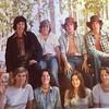Yosemite 1975 front row: Barb Larrieu, Cherie Memeo, Jacqui Larrieu, Me