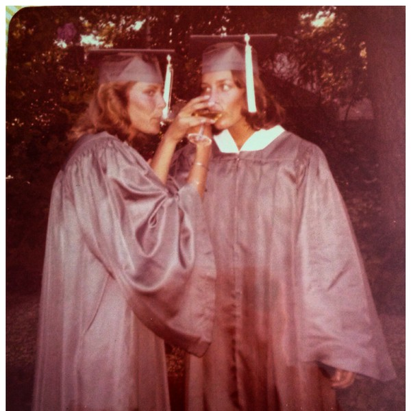 Jeanne Shroeder and I MHS graduation 1977