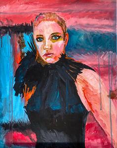 6_Past_Work_Woman_In_Black_Painting_Janna_Coumoundouros