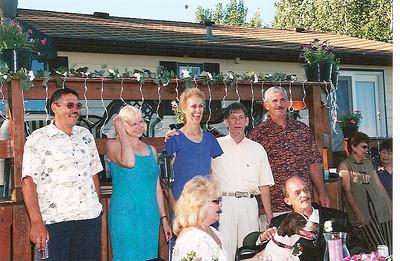 Skinny wedding 2001