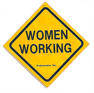 Women Working sticker