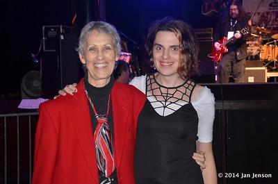 Jan Jenson & Susan Mace at 2014 Rockin' Kids First at Amos Southend in Charlotte, NC  12-6-14