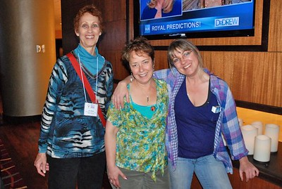 2011 Tradeswomen Conference in Oakland, CA  April 27-May 1. Jan Jenson, conference organizer Debra Chaplan and the fabulous Melina Harris from Seattle.  She's a tireless worker for SistersintheTrades and their Chatter Pages and recently won a well-deserved national award!
