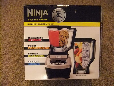 I LOVE my new Ninja blender... I was saving my $$$ for a Vitamix... but I LOVE this and it's more versatile and has 2 different size containers!   Got it at Lowe's Hardware - about $160.