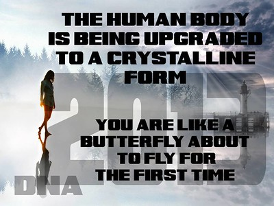 human body is being upgraded