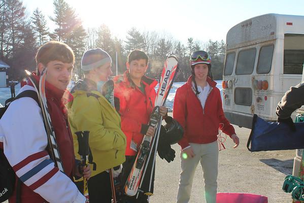 Senior Ski Holiday Departure