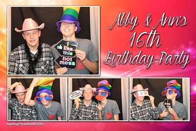 Abby & Ann's 16th Birthday Party