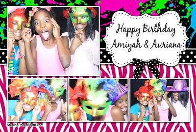Amiyah & Auriana's Birthday