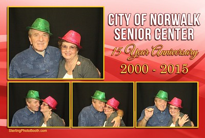 City of Norwalk Senior Center 15 Year Anniversary 2000 -2015