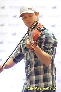 Jamie Woodfin fiddler - ACMA Fan Fest 2016 0276