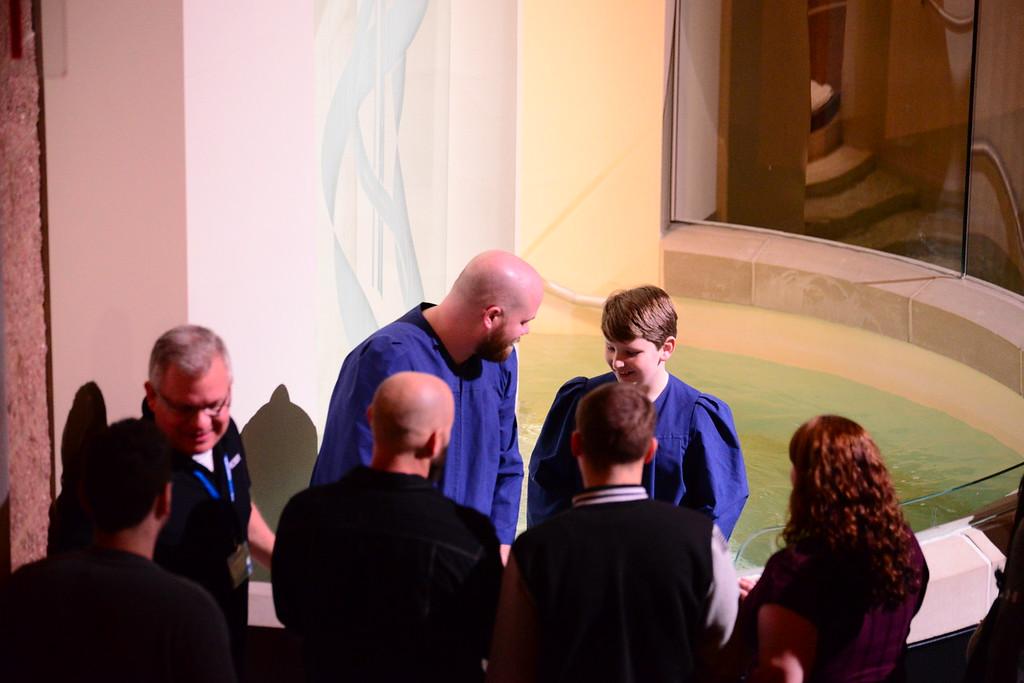 January 2017 Baptisms