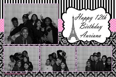 Auriana's 12th Birthday
