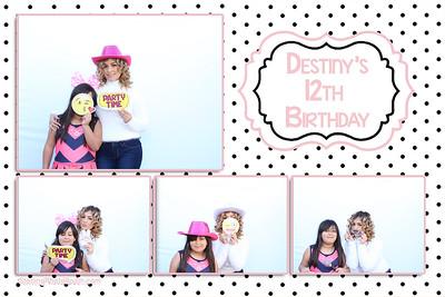 Destiny's 12th Birthday