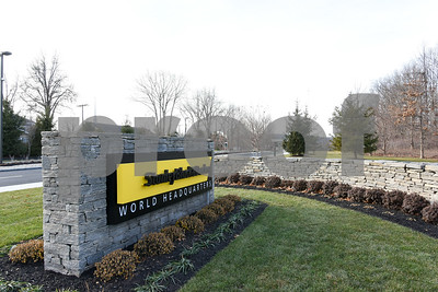010516  Wesley Bunnell | Staff  The street entrance to the world headquarters for Stanley Black & Decker located at 1000 Stanley Drive in New Britain.