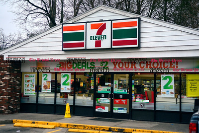 1/20/2017 Mike Orazzi | Staff A man was stabbed outside 7-Eleven early this morning on Riverside Avenue.