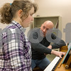 012317  Wesley Bunnell | Staff<br /> <br /> Olivia Bartusik, age 12, takes piano lessons in New Britain's City Hall from instructor Doug Duca who is also Director of Music for St. Mary Church & St. Ann Church. The program is part of the New Britain Parks & Recreations winter programs.