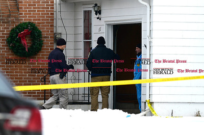 1/10/2017 Mike Orazzi | Staff The Bristol Police Department responded to 66 Timber Lane on an unresponsive person. Upon arrival Officers located the home owner Gale McIntyre, age 59, deceased at the home. The preliminary investigation indicated the manner of death was suspicious.