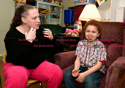 1/11/2017 Mike Orazzi | Staff Bridget Nelson and her son Marcelo Rosa.