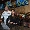 011817  Wesley Bunnell | Staff<br /> <br /> Owner & chef Arti Bomova of The Avenue Restaurant in Berlin is shown with his sister and bartender Jamie Bomova.