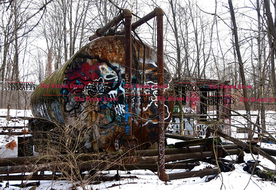 1/25/2017 Mike Orazzi | Staff The abandoned industrial area near Birge Pond in Bristol.