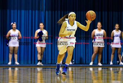1/7/2017 Mike Orazzi | Staff CCSU's Kiana Patterson during Saturday's women's basketball game with Sacred Heart.