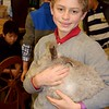 Sixth-Grade Boys and Their Bunnies!