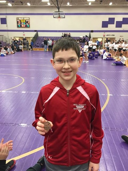 WMS Wrestling Medalists @ Valley Center 012817