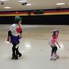Speed skate practice