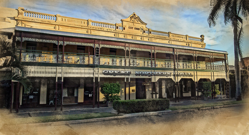 """""""Great Northern Hotel - Nudging 120 years."""""""