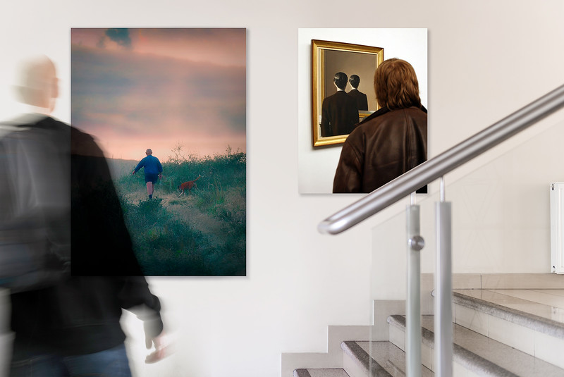 """""""Encounter in the Poster Gallery."""""""