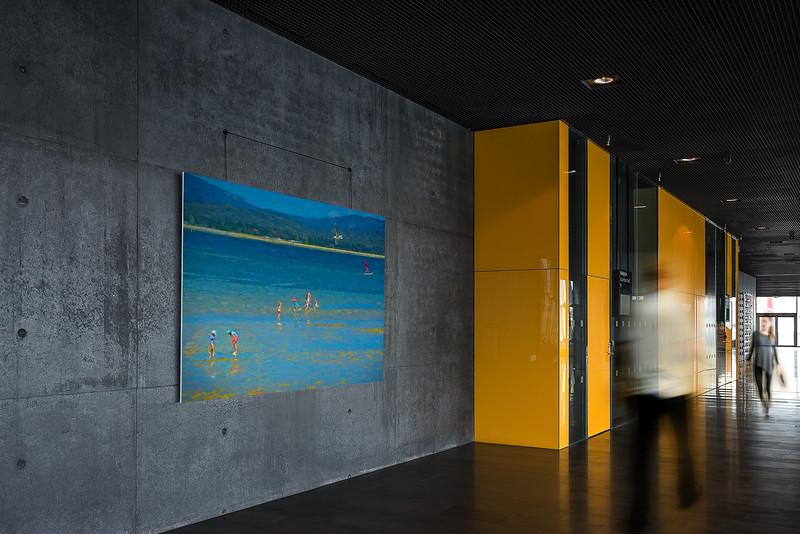 """Sunday Afternoon at Lagoon Cove, Tamar River, George Town, Tasmania."" Foyer shot."