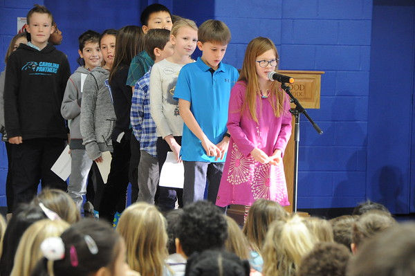 Fourth Graders Honor the Memory and Great Work of Dr. King