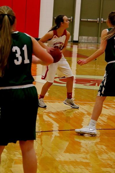 Girls Basketball vs Mulvane 010218