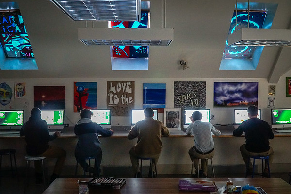 Inside the Art Classroom 🎨