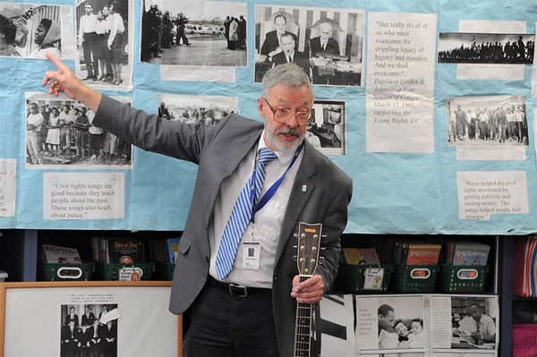 Learning About the Civil Rights Movement with Mr. Giles