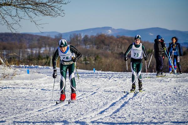 Nordic Ski Race in Strafford, VT