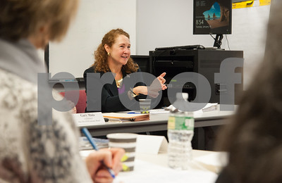 01/16/18  Wesley Bunnell | Staff  Congresswoman Elizabeth Esty (CT-5) met with her science, technology, engineering and math (STEM) Advisory Board on Tuesday morning at CCSU's ITBD building. Congresswoman Elizabeth Esty (CT-5) speaks to the board.