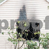 01/22/18  Wesley Bunnell | Staff<br /> <br /> Fire damage at 104 Diamond Ave in Plainville which was the scene of a fire the previous day.