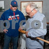 01/12/18  Wesley Bunnell   Staff<br /> <br /> New Bees Manager Wally Backman met fans and signed autographs at Alvarium Beer Company in New Britain on Friday night.  Mike Doran has a bat autographed by Backman.