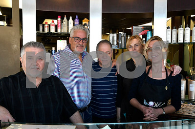 1/13/2018 Mike Orazzi | Staff Staff from the Mr. Joseph Hair Salon & Spa in New Britain on Saturday.  For a Charlie chamber story.