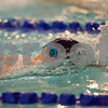 01/19/18  Wesley Bunnell | Staff<br /> <br /> Plainville swimming was defeated by Southington 97-80  on Friday evening at Plainville High School. Plainville's Marcos Gutierrez in the 400 free.