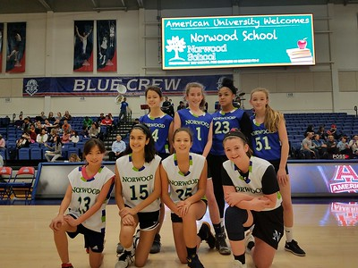 The Blue Hawks Scrimmage at AU's Bender Arena