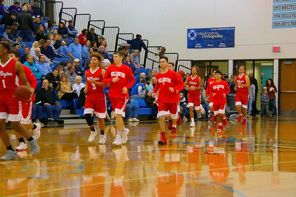 Varsity Boys Basketball vs Clearwater 010518