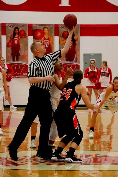 Varsity Girls Basketball vs Augusta 011218